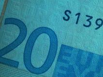 banknote1欧元二十 免版税图库摄影