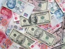 Banknotehintergrund Lizenzfreies Stockfoto