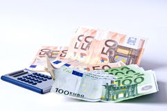 Banknoten Stockfotos