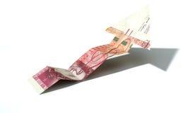 Banknoten-aufwärts Tendenz-Pfeil des britischen Pfunds Stockfotografie