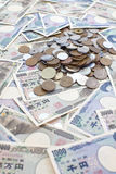 Banknoten der japanischen Yen Lizenzfreie Stockbilder