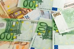 Banknoten (hoher Geldbetrag) Stockfotos