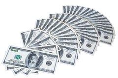 Banknoten Stockfoto