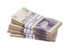 Banknoten-Stapel Stockfoto