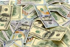 Banknoten, US-Dollar Stockbild