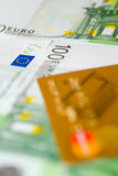 Banknoten von Euro Stockfoto