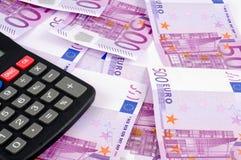 Banknoten von Euro. Lizenzfreie Stockfotografie