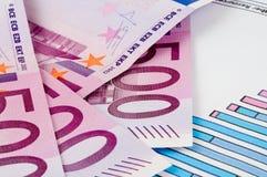 Banknoten von Euro Lizenzfreies Stockfoto
