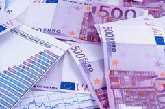 Banknoten von Euro Lizenzfreies Stockbild