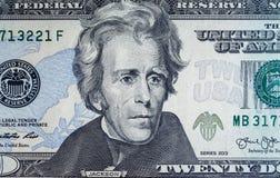 Banknotenhintergrund, amerikanischer Dollar, Finanzkonzept, blaues t Stockbild