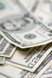 Banknotes. Close-up of a $ banknotes Royalty Free Stock Photos