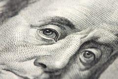 Banknotes. Extra Close-up of a $ banknotes Royalty Free Stock Photo