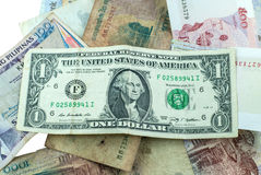banknotes imagem de stock