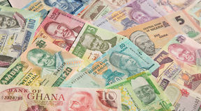 banknotes Foto de Stock