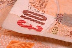 Banknotes. Ten pound banknotes Royalty Free Stock Photos