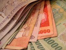 Banknotes And Bills Stock Photo