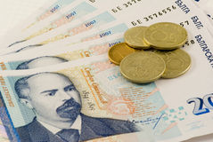 Free Banknotes And Coins Royalty Free Stock Photography - 6133497