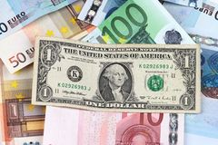 Banknotes background Stock Image