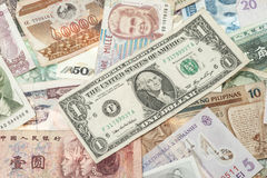 Banknotes background Royalty Free Stock Image