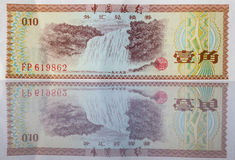 Banknotes from China Stock Images