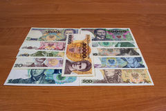 Banknotes Collectible Polish People's Republic Royalty Free Stock Photography