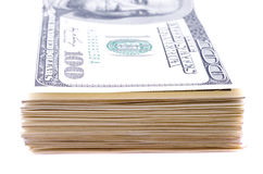 Banknotes of dollar Stock Images