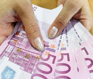 Banknotes - Euro Stock Images