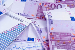 Banknotes of euro Royalty Free Stock Image