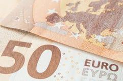 Banknotes of euro money Royalty Free Stock Photo