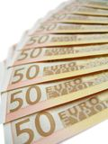 Banknotes - Euros Stock Images