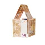 Banknotes of 50 euros Royalty Free Stock Photos