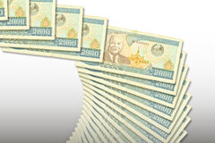 Banknotes Laos Royalty Free Stock Images