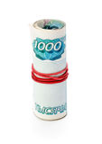 Banknotes of Russia Stock Photo