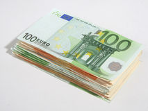 Banknotes - save money. Royalty Free Stock Photo