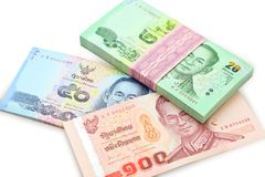 Banknotes Thailand Royalty Free Stock Images