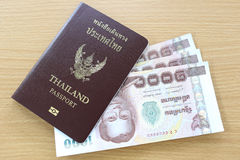 Banknotes of Thailand. Royalty Free Stock Photography