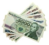 banknotu Chopin Frederic połysk Zdjęcia Royalty Free