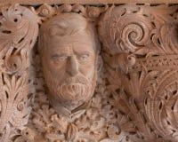 banknotu czarny dolarów pięćdziesiąt dotacja odizolowywał obrazka portret s Ulysses my biały Grant kamieniarka w stan nowy jork C obraz royalty free