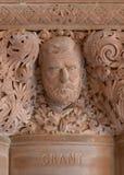 banknotu czarny dolarów pięćdziesiąt dotacja odizolowywał obrazka portret s Ulysses my biały Grant kamieniarka w stan nowy jork C obrazy stock