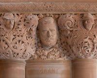 banknotu czarny dolarów pięćdziesiąt dotacja odizolowywał obrazka portret s Ulysses my biały Grant kamieniarki szczegół w stan no zdjęcia royalty free