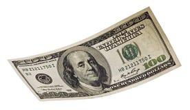 banknotu dolar sto Obrazy Royalty Free