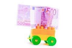 banknotu fury euro ręka Zdjęcia Royalty Free