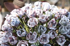Banknotu kwiat Zdjęcia Royalty Free