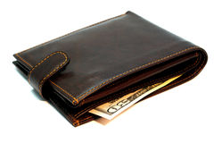 banknotu portfel Fotografia Stock