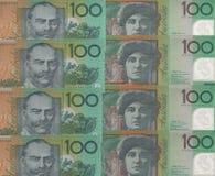 Banknotu tło Zdjęcie Royalty Free