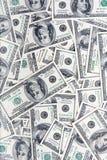 banknotów 100 dolarów Zdjęcia Royalty Free