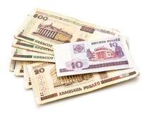 banknoty Belarus Fotografia Royalty Free