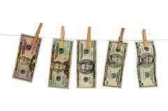 Banknoty dolar Obrazy Stock