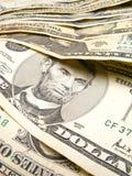 banknoty dolara Zdjęcie Royalty Free