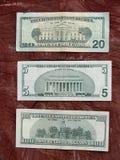 banknoty dolarowe fotografia stock
